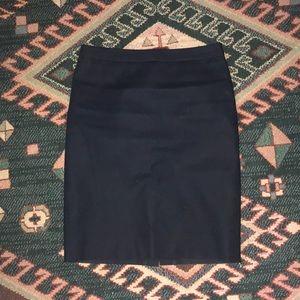 J crew Navy pencil skirt